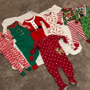 Other - 2T Christmas Jammie Lot (7)